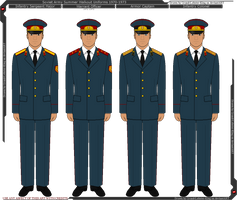 Soviet Army Summer Walkout Uniforms 1970-1973