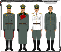Overview of Wilhelm Keitel's Uniforms by Grand-Lobster-King