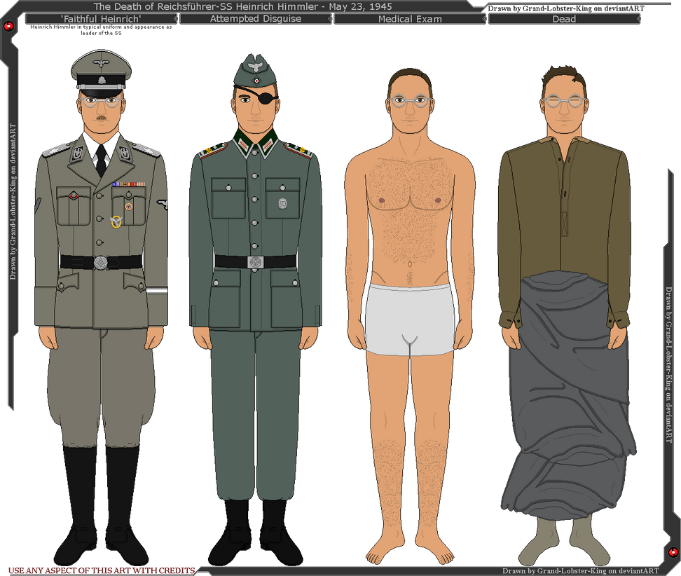 The Death Of Heinrich Himmler By Grand-Lobster-King On