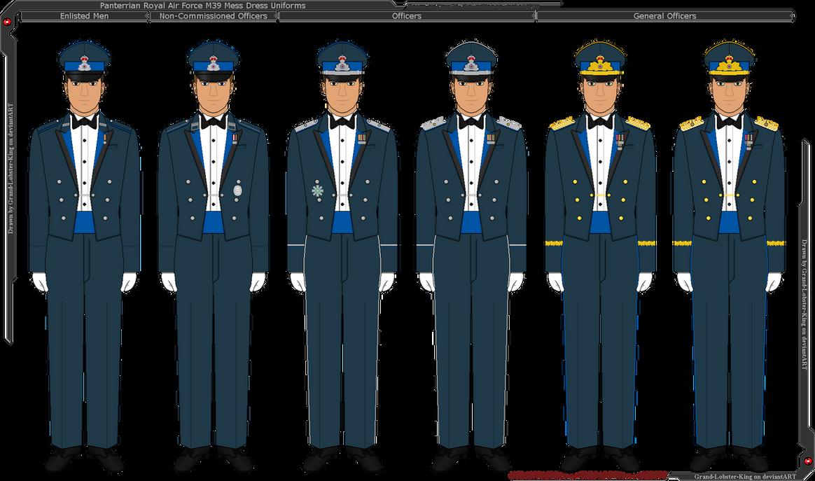 Panterria - Royal Air Force M39 Mess Dress Uniform by Grand
