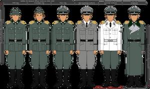 Waffen-SS General Officer Uniforms