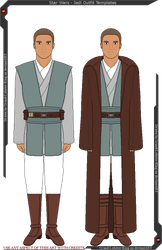Star Wars - Jedi Outfit Templates