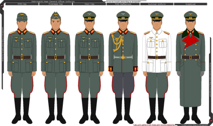 Wehrmacht Heer General Uniforms