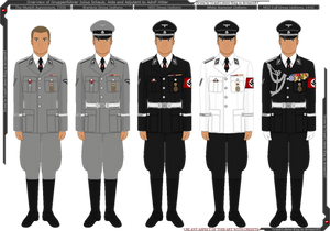 Overview of Julius Schaub's Uniforms