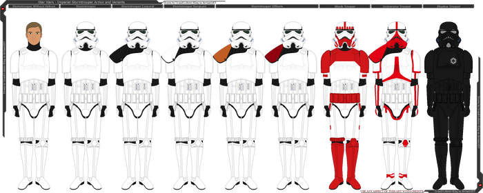 Star Wars - Imperial Stormtrooper Variants