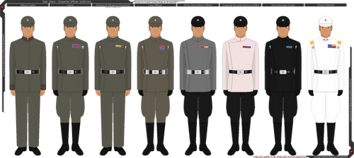 Star Wars - Imperial Officer Uniforms