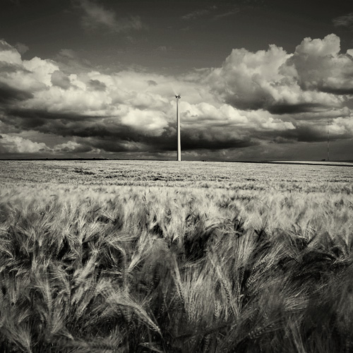 Eoliennes study II by ThierryV