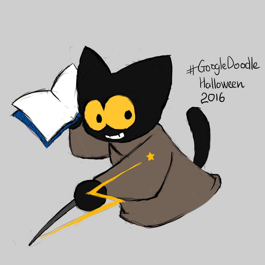 googel doodle halloween 2016 by neikthefish on deviantart googel doodle halloween 2016 by