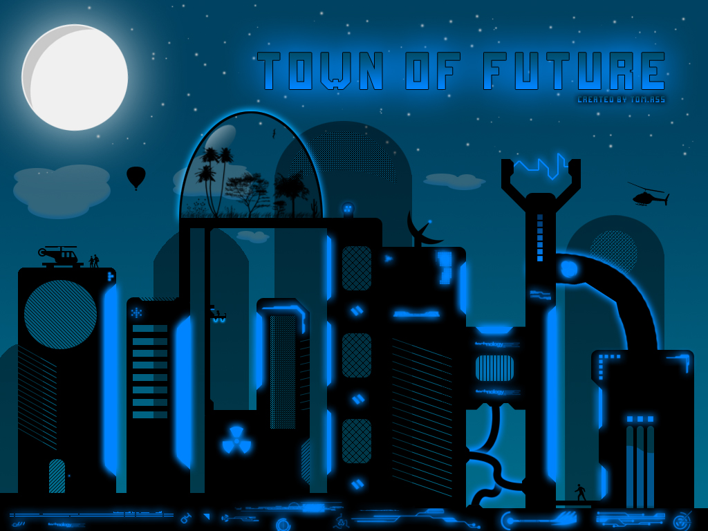 Town of future by MrTomAss