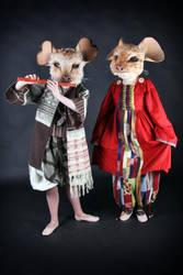 Mice costumes by Osanpo