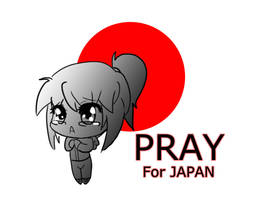 Pray for Japan by Kokoro-Tokoro