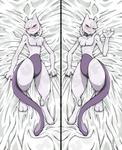 Mewtwo Body Pillow - Both Sides