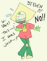 Steven Universe: Caught Peridot by Kokoro-Tokoro