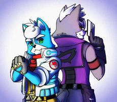 Star Fox: Marcus and Lupe by Kokoro-Tokoro