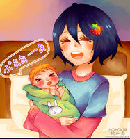 Congratulations new mom!! by MomoChiee