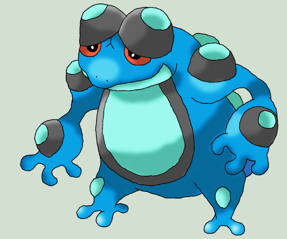 Seismitoad Images | Pokemon Images