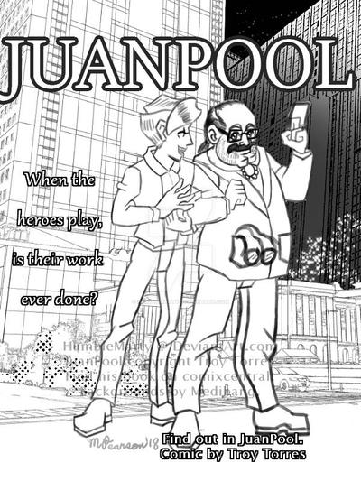Juan Pool Fanart by HumbleMarty