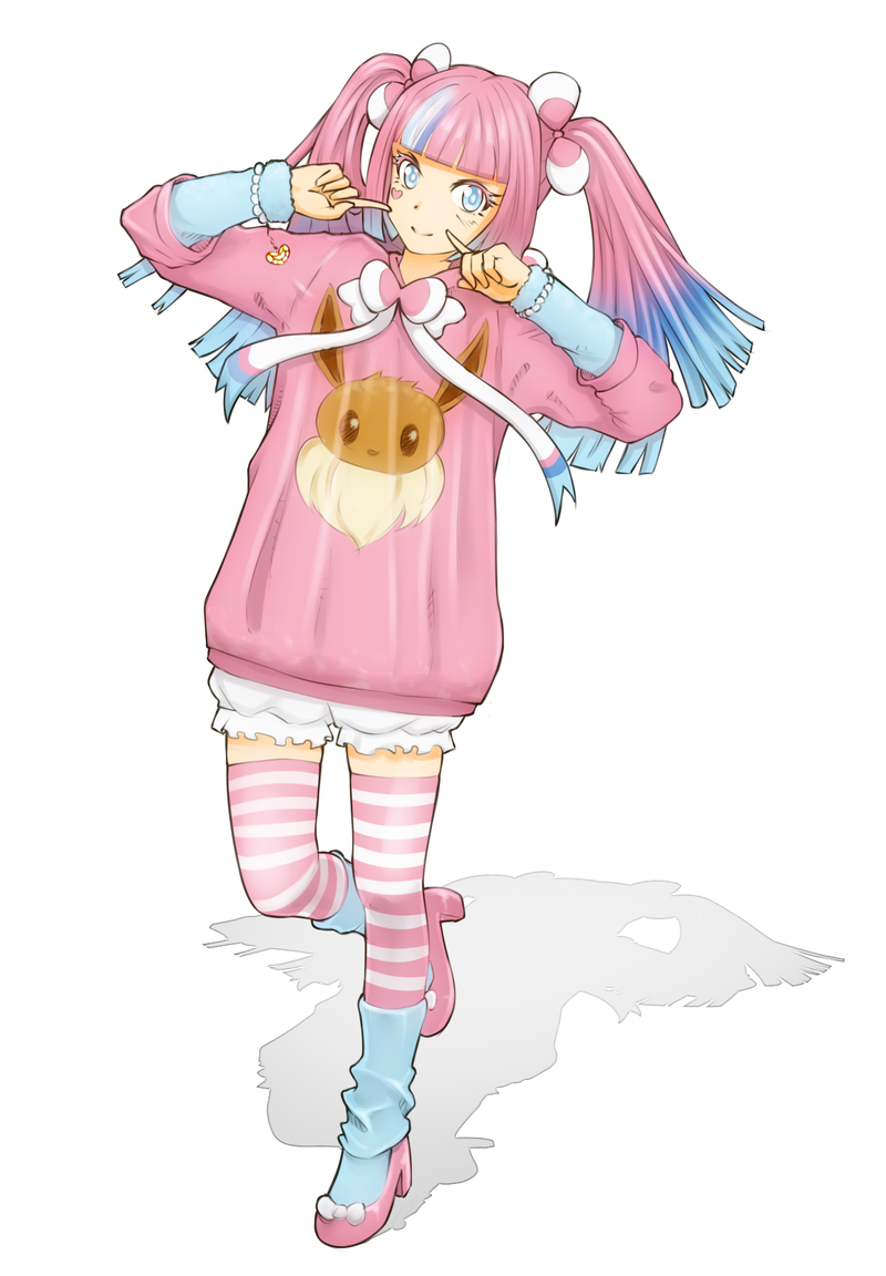 Commission: Sylveon by MagniFire on DeviantArt