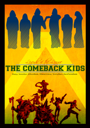 Comeback Kids LoL Clan Poster by TommyMann