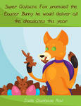 EASTER SPECIAL (Super Galactic Fox) by jadedamrail