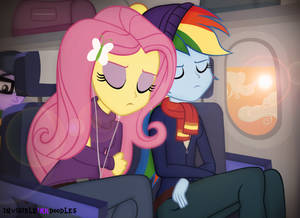 Flying Home To Cloudsdale
