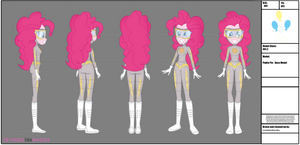 Pinkie Pie Alter Ego Modelsheet (Commission) by InvisibleInkDoodles
