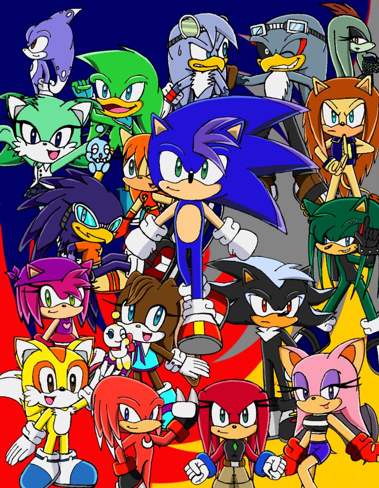 The Future Sonic Team by ViperNicole92
