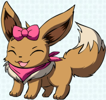 Rosie the Eevee by Pokemon-All-4-One