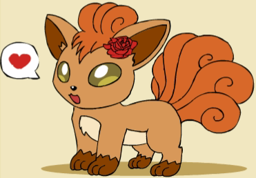 Mary the Vulpix by Pokemon-All-4-One