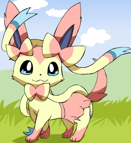 Rosie the Sylveon by Pokemon-All-4-One