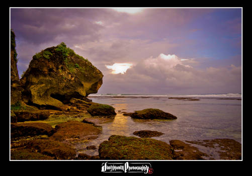 Uluwatu low tide by dirtyphonik