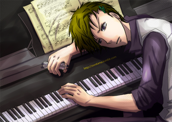 Unenthusiastic Pianist by y0umin