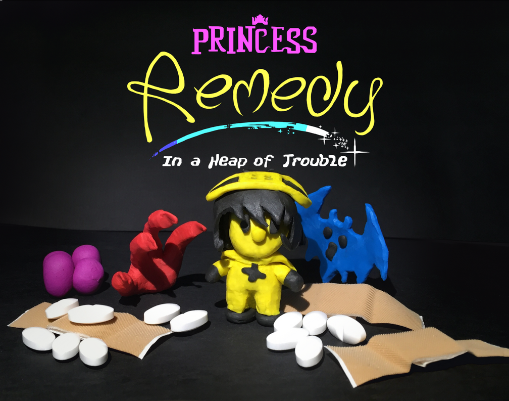 Princess Remedy in Clay by steamgear