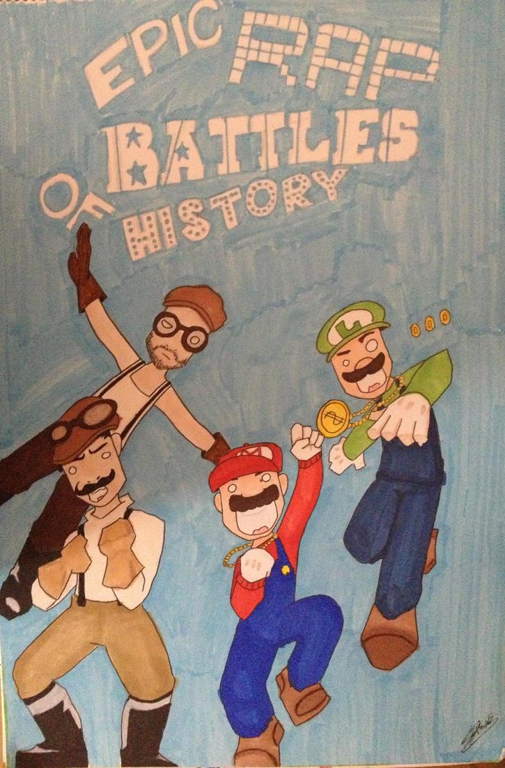 Mario Bros. VS Wright Bros. by Qoutex