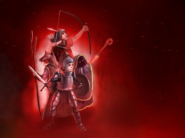 Stand guard by Alexashbyart