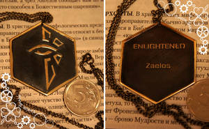 Ingress Enlighened pendant by TimforShade