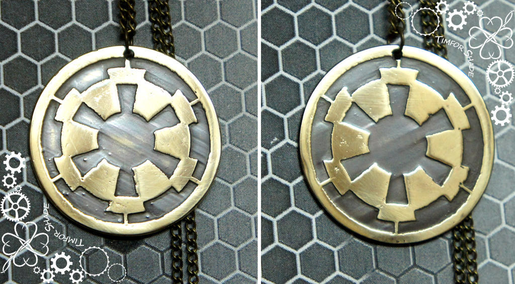Star Wars Galactic Empire pendant by TimforShade