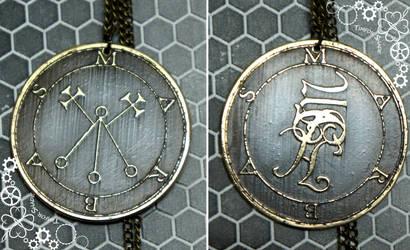 Duke Marbas - Lesser Key of Solomon amulet by TimforShade