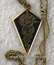 Arrowhead steampunk pendant by TimforShade