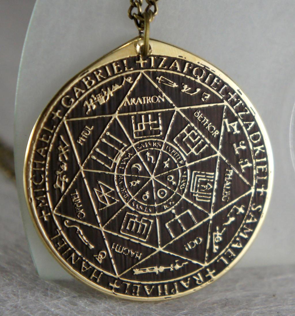 sigil of seven archangels solomon kabbalah amulet by