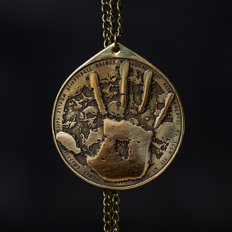 Dark Brotherhood pendant We know Skyrim by TimforShade