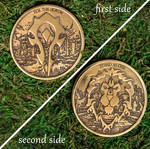Warcraft Destiny Horde and Alliance coin