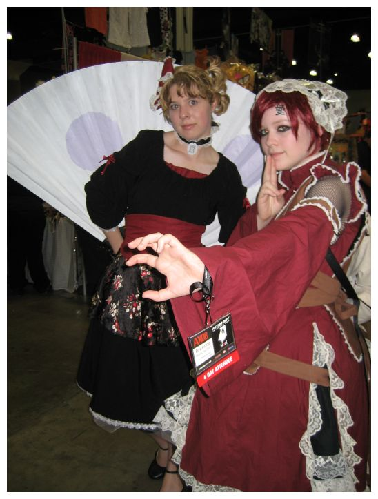 Cosplay Lolita Gaara + Temari by CoFFeH