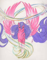 Pony Feathers by tearsofthunder