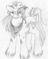 Tex Big Brother Pony by tearsofthunder