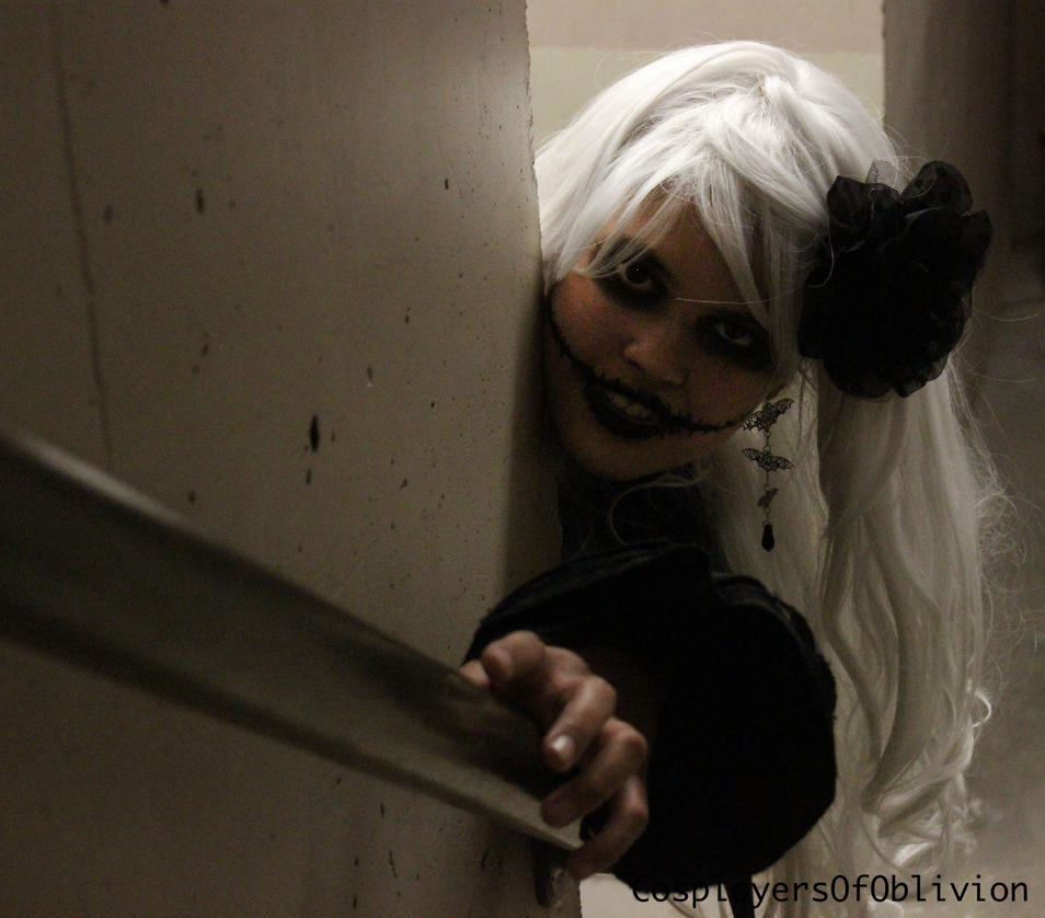 Arn't you scared? by cosplayersofoblivion