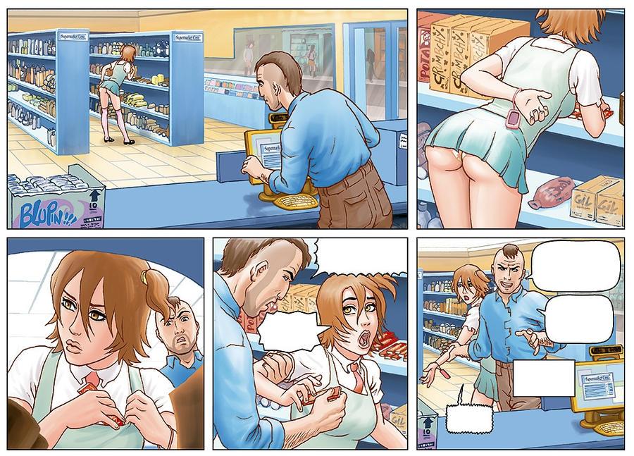 some form my comic 4 girlfriends. by Atilio-Gambedotti
