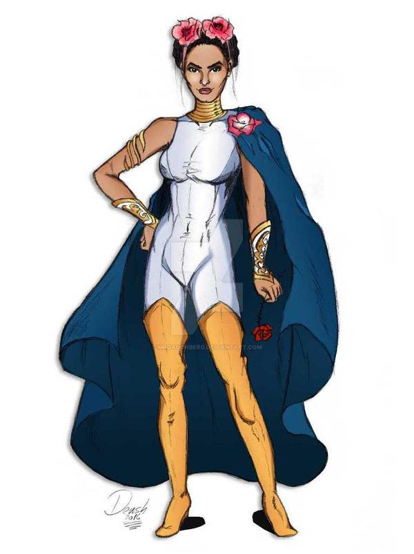 Comission - Hermosa Reina (Original character) by mrdauchberg