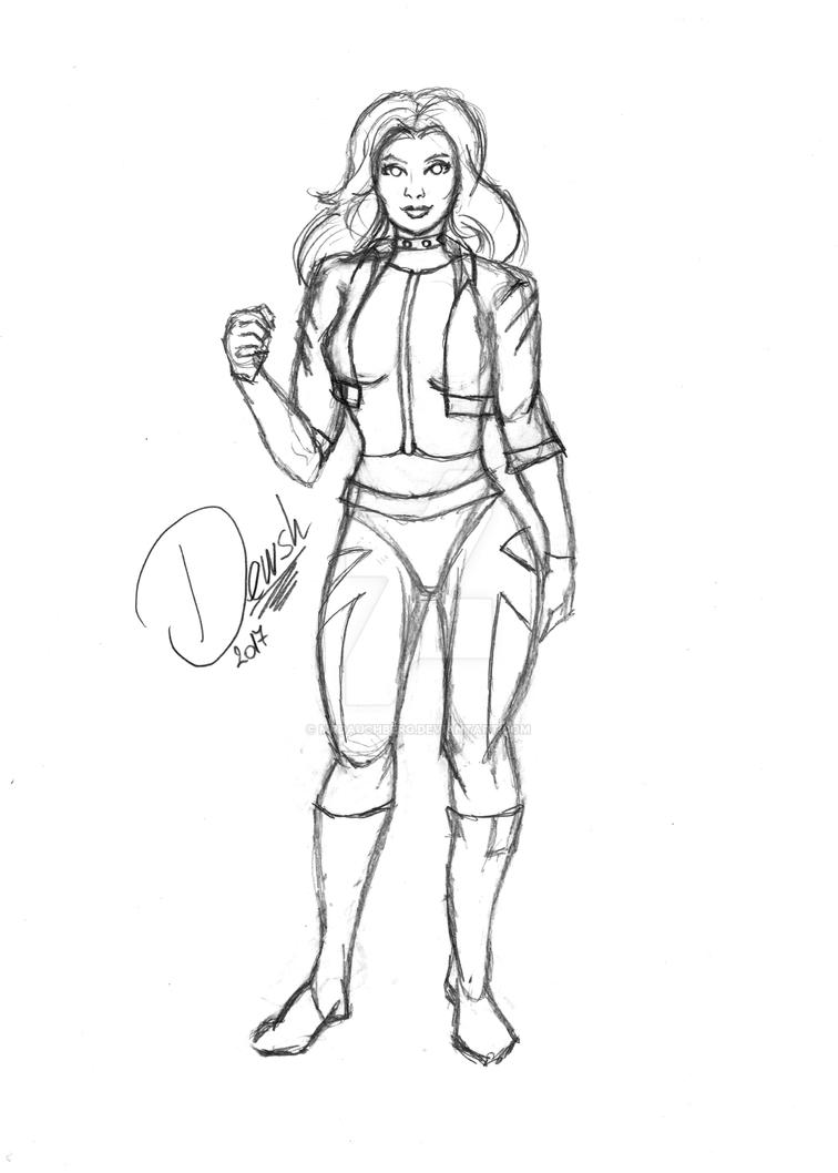 Injustice Black Canary by Otto Schmidt in 2020 | Black ... |Injustice Black Canary Drawing