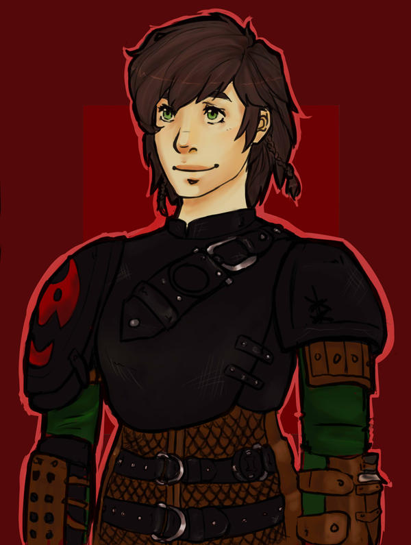 Hiccup genderbent by TheLittleArtist